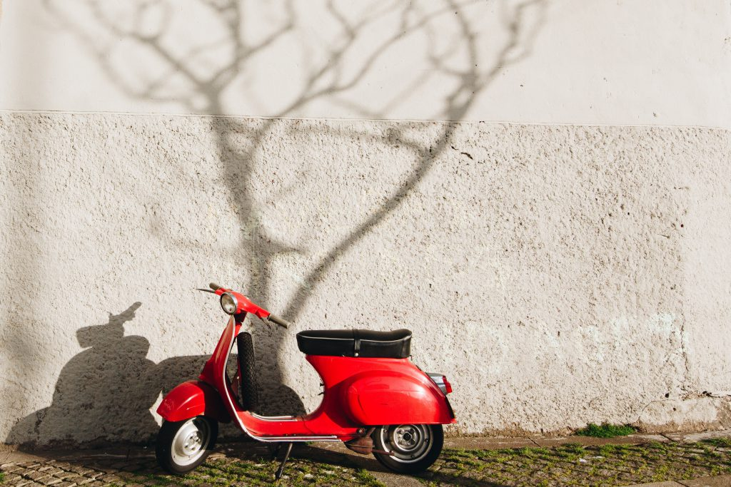 scooterongeval
